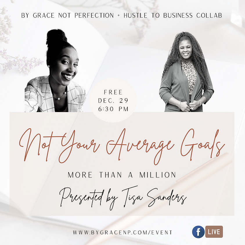 Brand Collab: Not Your Average Goals ft. Hustle to Business Coaching