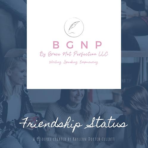 Digital Resource: Friendship