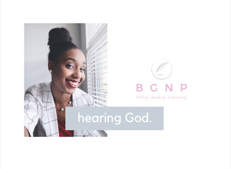 2 Things Keeping You From Hearing God