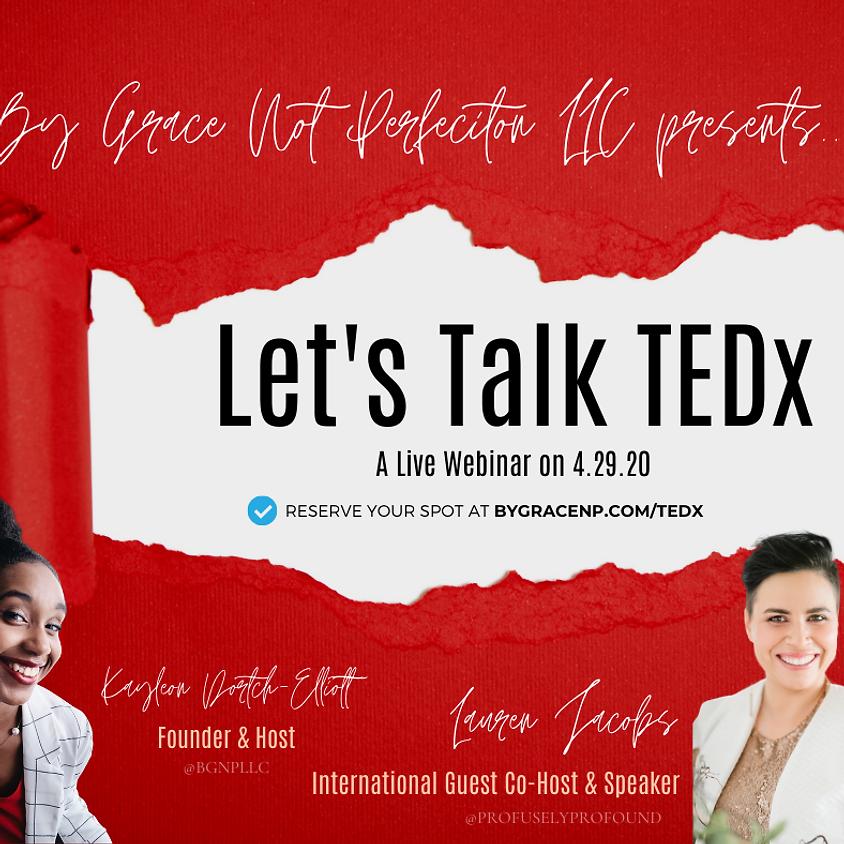 Let's Talk TEDx