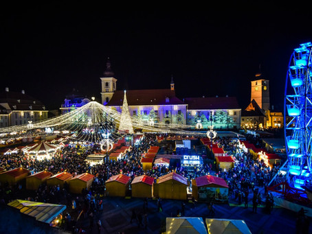Iată de ce nu trebuie să ratezi Târgul de Crăciun de la Sibiu
