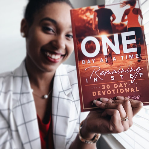 """""""One Day at a Time: Remaining in Step"""" 30-Day Devotional"""