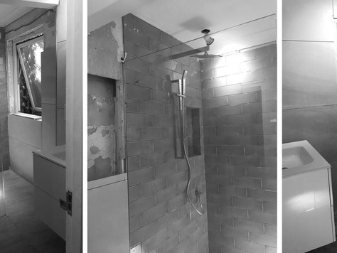 Paddington Progress: Shower Room
