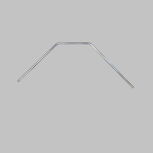 """Handrail, (FR), 1"""" Dia. Alum., 45 Bend, Approx Dimensions 32""""x19""""x36"""""""