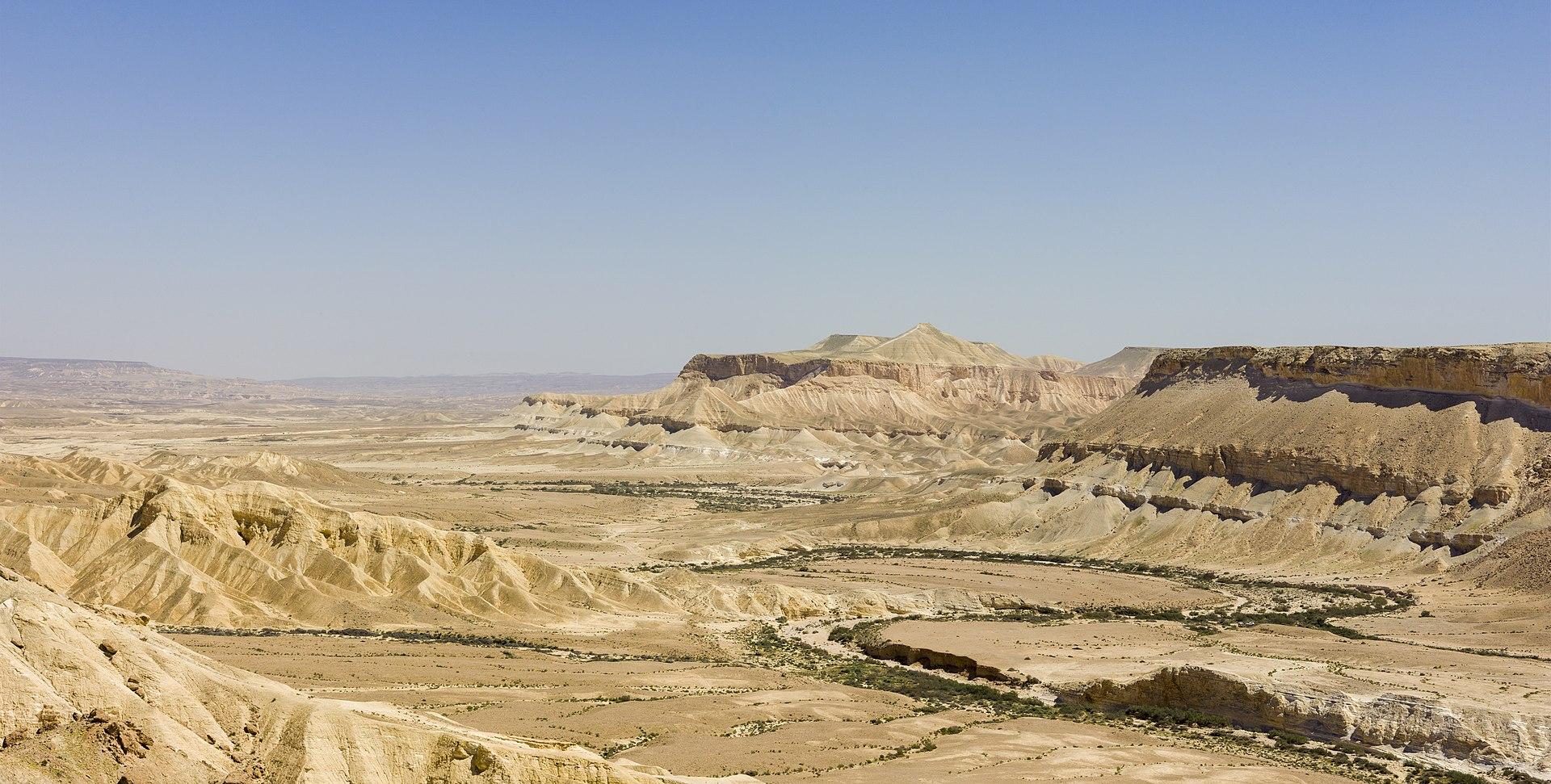 Zin Valley~ Negev