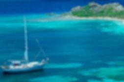 Tropik bölgelerde Yelken Tekne