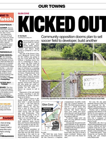 Published Newsday, August 02, 2013 Issue, Page A21