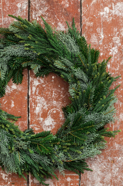 "24"" Holiday Wreath"