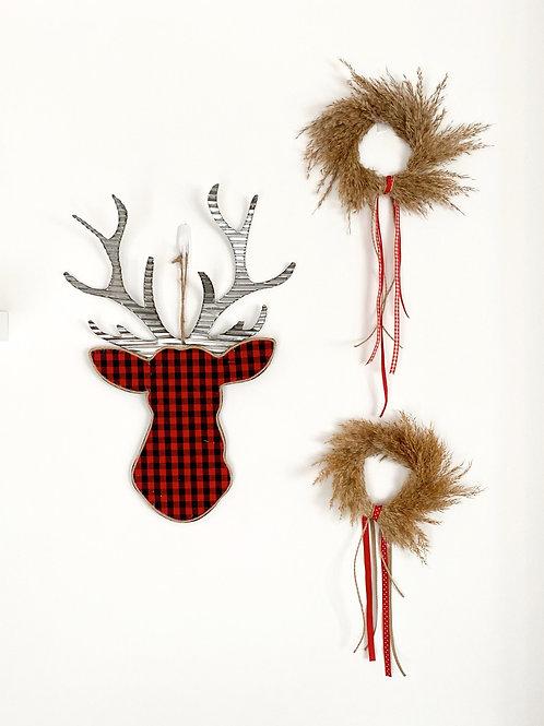 Pampas Mini Wreath