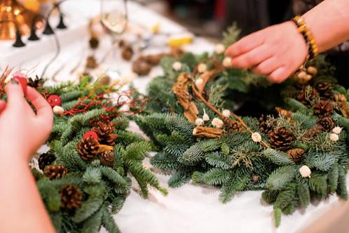 Wreath Workshop - Parkside Hotel - Nov.27th 7pm-9pm