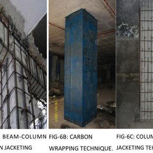 We take up the addition and alteration works involving retrofitting of R.C. and  steel elements  as per functional and service requirements.