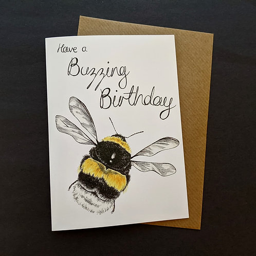 Have a Buzzing Birthday Card