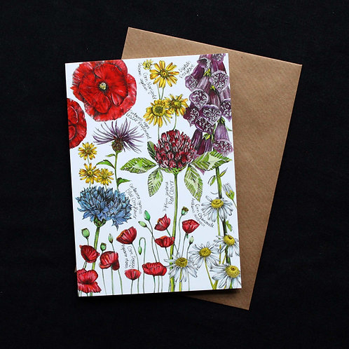 Flowers for Bees Card