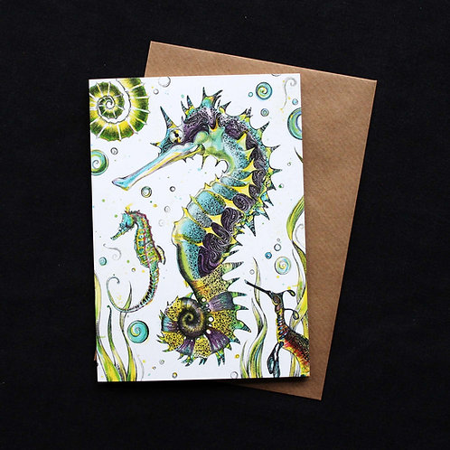 Seahorses Cards Code 033