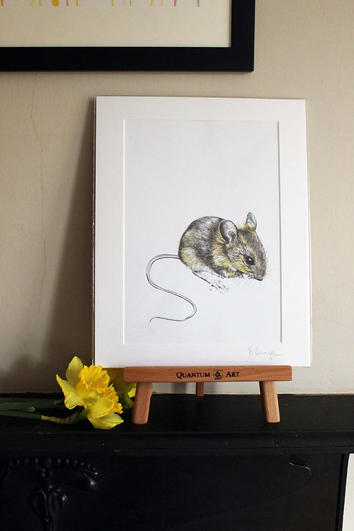 PRMRMO/A4 Mr Mouse Fine Art Print