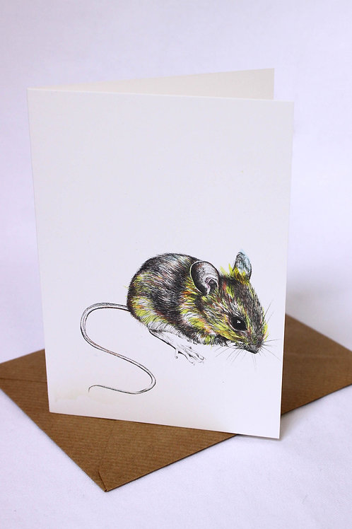 003 Mr Mouse Card