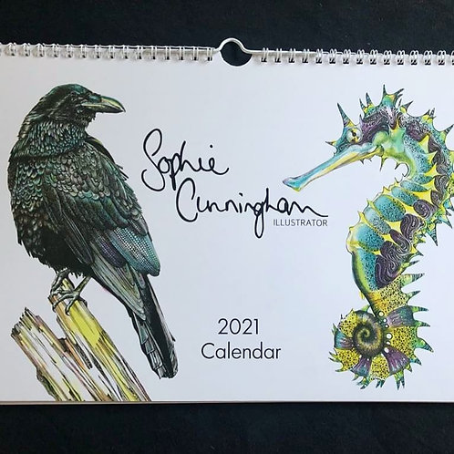 5 x 2021 Calendars