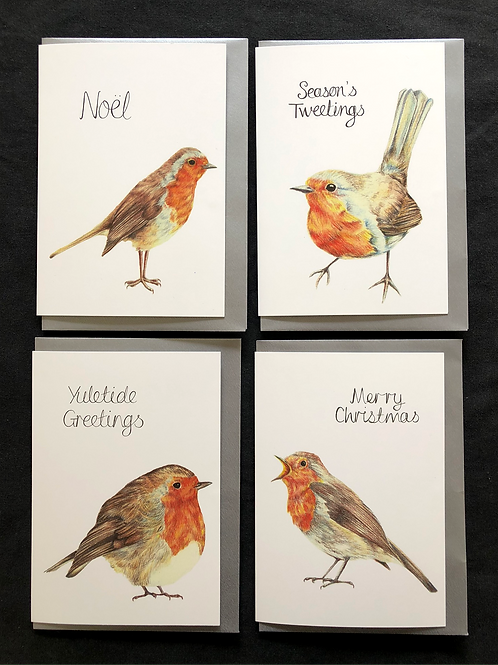 Pack of 4, 8 or 16 Cards
