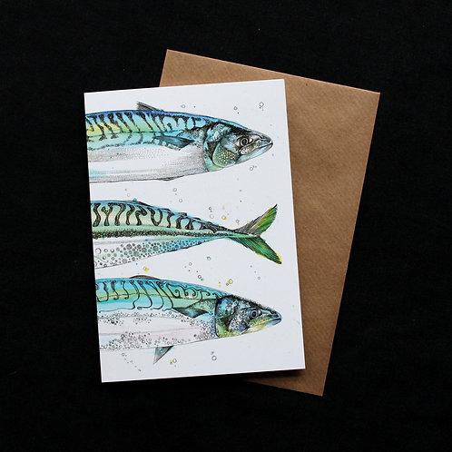Triple Fish Card