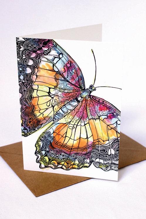 010 Flutterfly Card