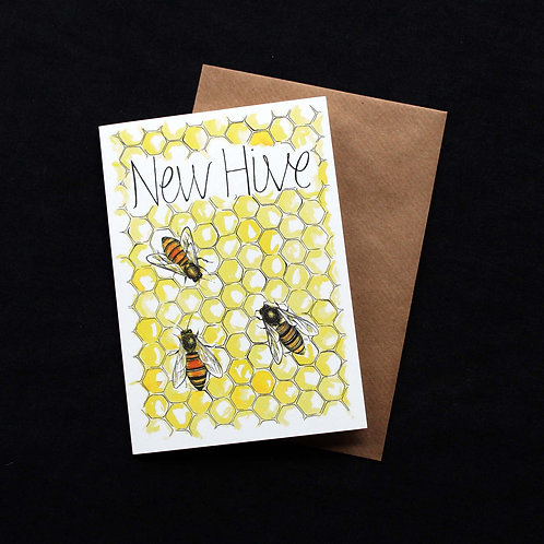 023 'New Hive'New Home Card