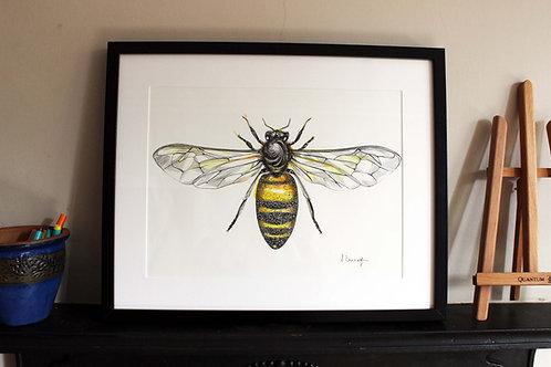 Worker Bee Original Art