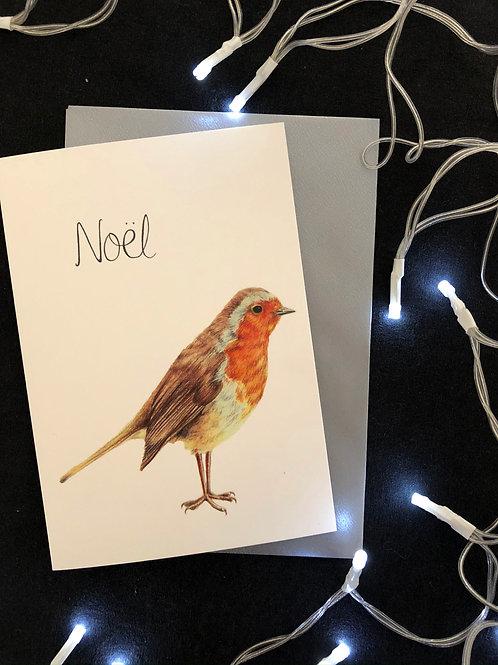 Noel Robin Card