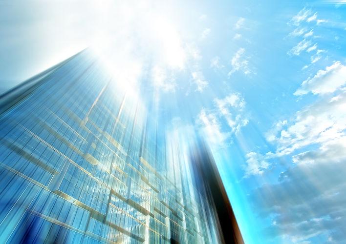 Unternehmensfassade, Foto: shutterstock/wix.com