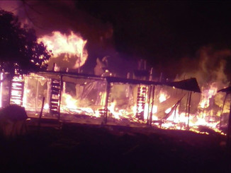 Sudden Fire Destroys Kayanga Market