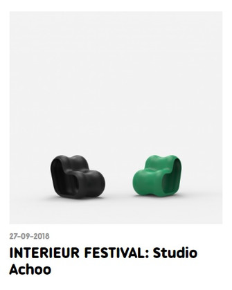 Interieur Biennale festival 2018 - Kortrijk