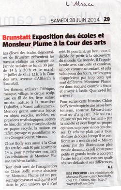 L'Alsace 28 juin 2014001