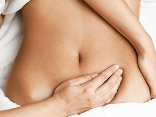 Abdominal massage for women gift voucher
