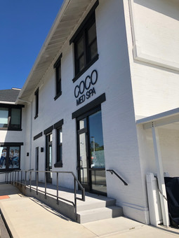 Outside of Coco Med Spa