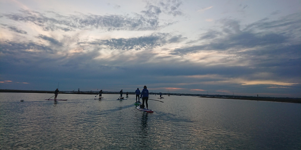 IMPORTANT CHANGE OF LOCATION: Boscombe Beach paddle