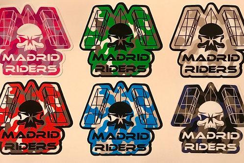 Pegatinas Madrid Riders