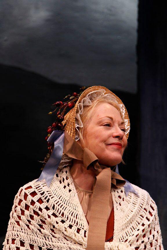 Melissa Hurst as Mother Groschen in LEAH, THE FORSAKEN photo by Allison Lucas
