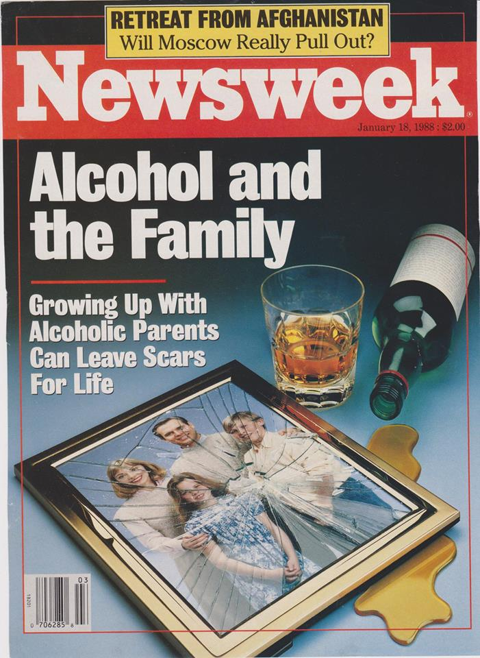 Cover of Newsweek - print ad