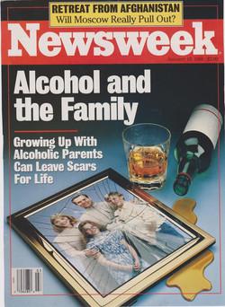 Cover of Newsweek - print ad
