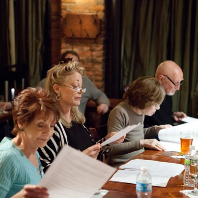Reading with Dominic Chianese at Theatre East