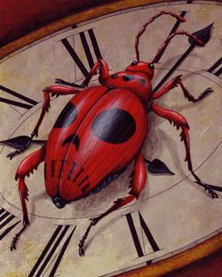 Red Skull Beetle