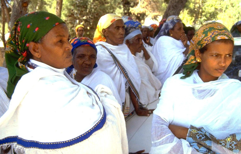 Ethiopian Women by Harnik Nati, Government Press Office of Israel [CC BY-NC-SA 2.0] via Flickr