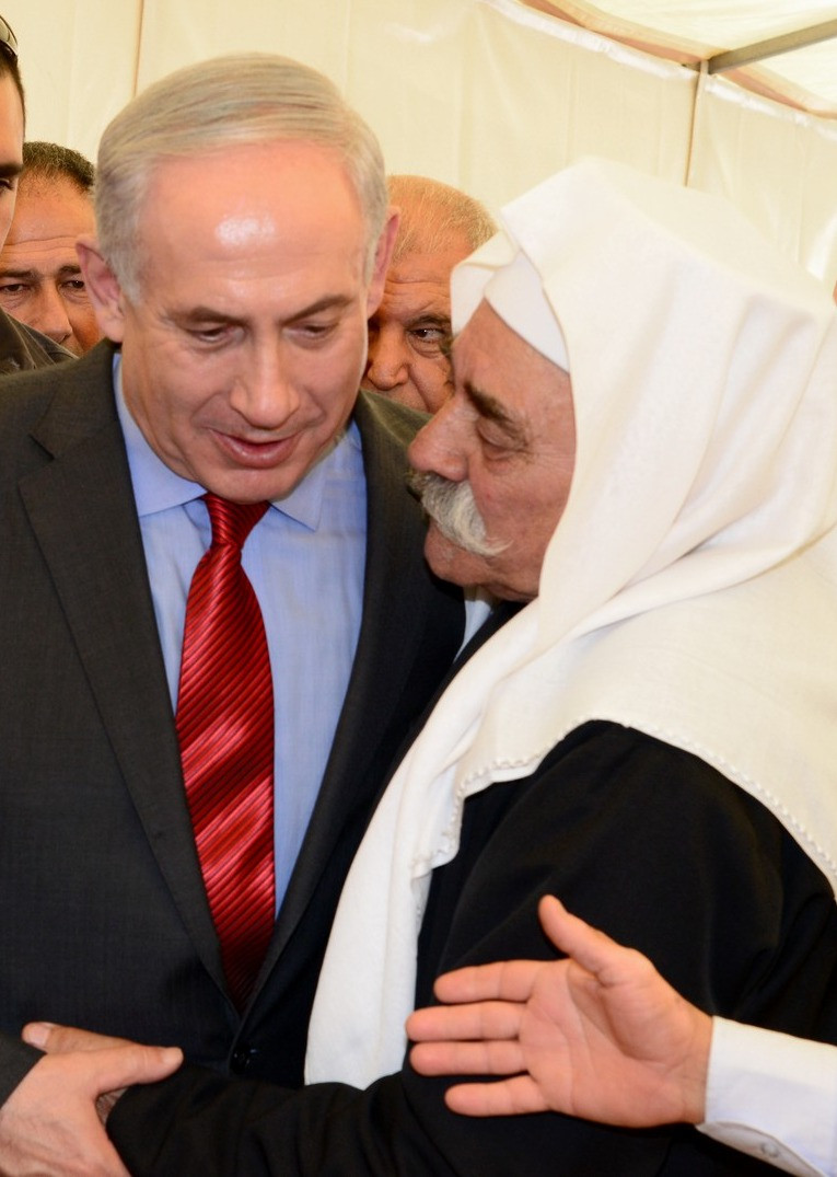 PM Netanyahu meets with Druze leader (Image credit: Government Press Office of Israel)