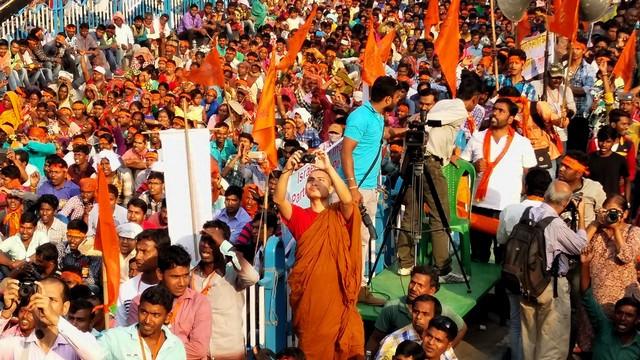 Hindu Samhati Rally (Image Credit: Vijeta Uniyal)