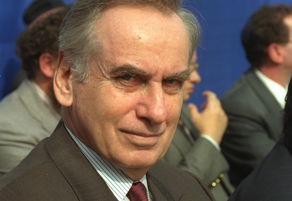Ambassador (Ret.) Zalman Shoval (1991) (Image Credit: Saar Yaacov/Government Press Office of Israel)