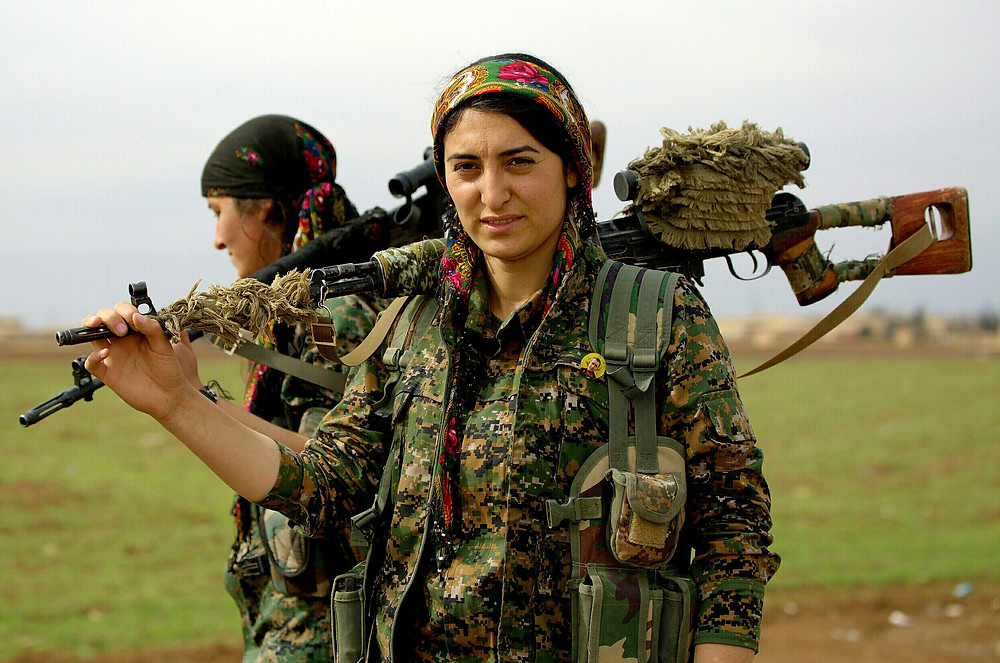 Kurdish Fighters by YPG (CC BY 2.0)