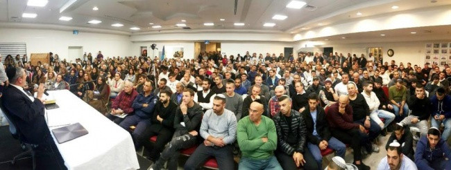 Rabbi Yosef Mizrachi Lecture in Israel (Image Credit: Rabbi Mizrachi PR Photo)