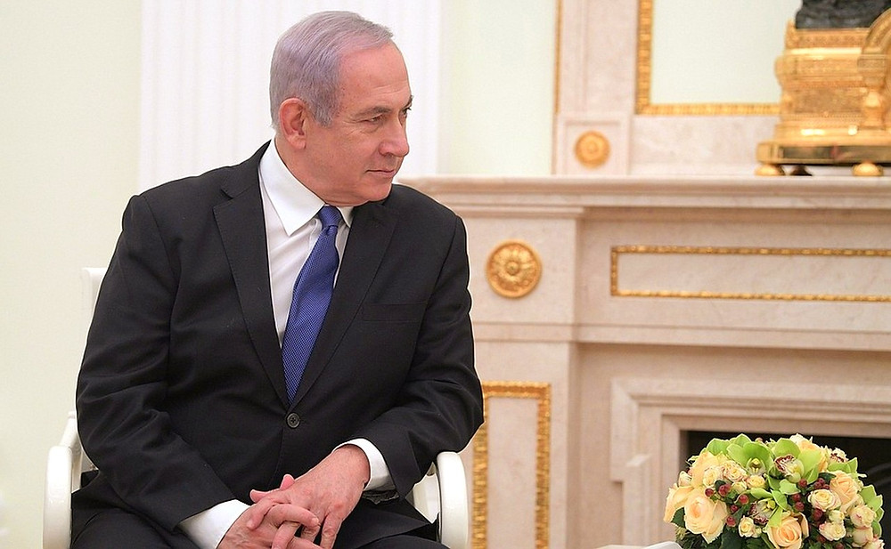 Prime Minister Benjamin Netanyahu by The Office of The President of Russia [CC BY 4.0 Int'l] via The Kremlin