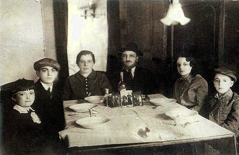 Rabbi Juzint's Family Portrait