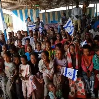 Watch: 8,000 Jews Stranded in Ethiopia Celebrate Israeli Independence
