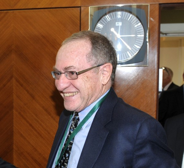 Alan Dershowitz (Image credit: Government Press Office of Israel)